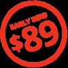 89 price stamp